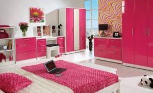 Сочетание розовый белый цвет