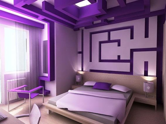 Сочетание фиолетовый цвет