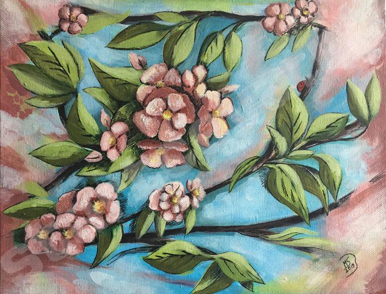 """Картина """"Майские цветы"""""""