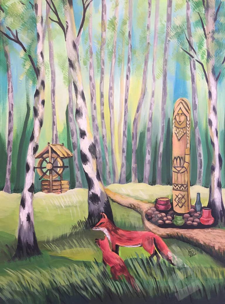 Картины гармонии от художника Старцевой